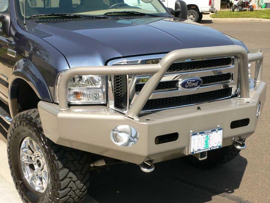 Steel Bumper Replacement
