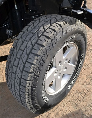 got my new tires today (yokohama geolander a/t g015 the