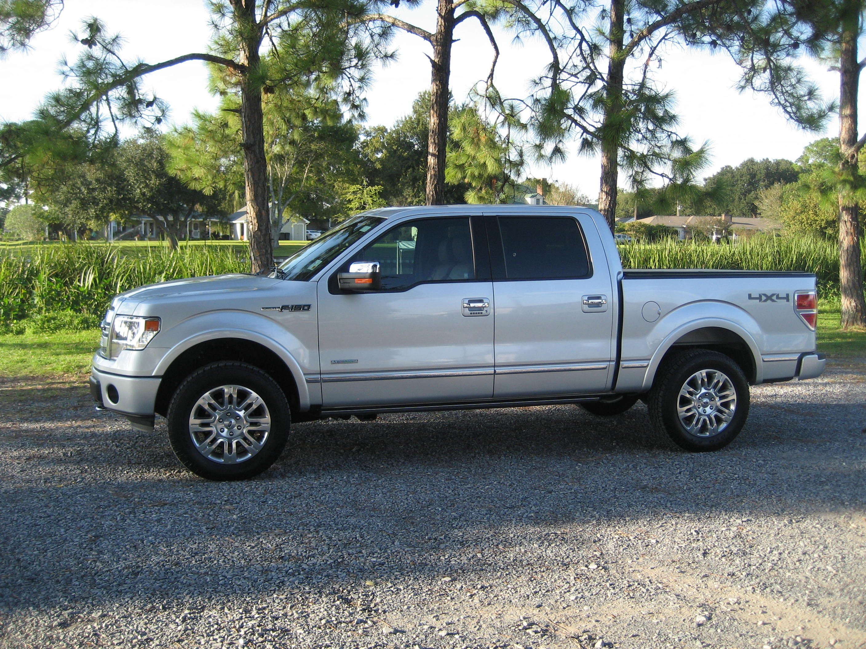 Ford F  Tire Size Leveling Decision With Stock Tires