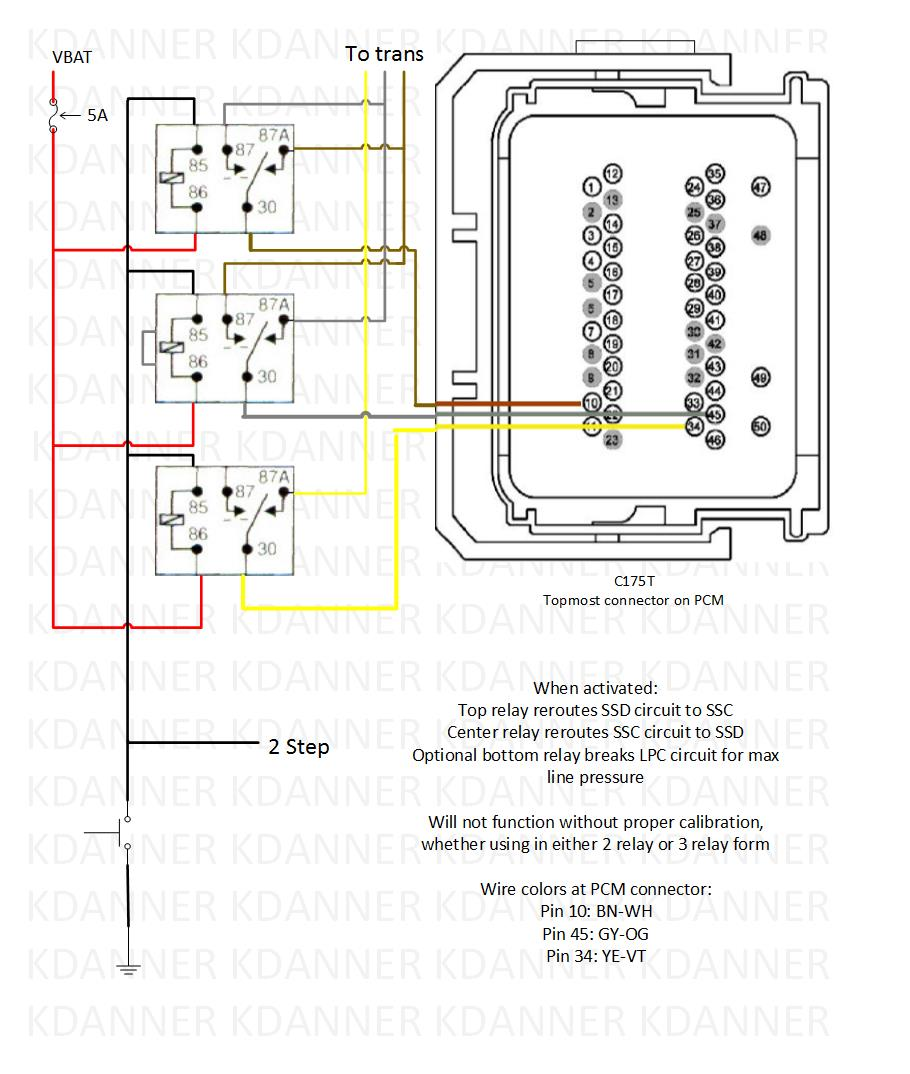 trans brake wiring schematic can somebody check this. Black Bedroom Furniture Sets. Home Design Ideas