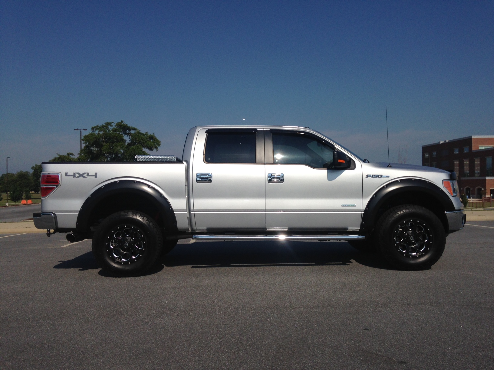 Lifted Ford F150 >> Lets See Your Offsets!