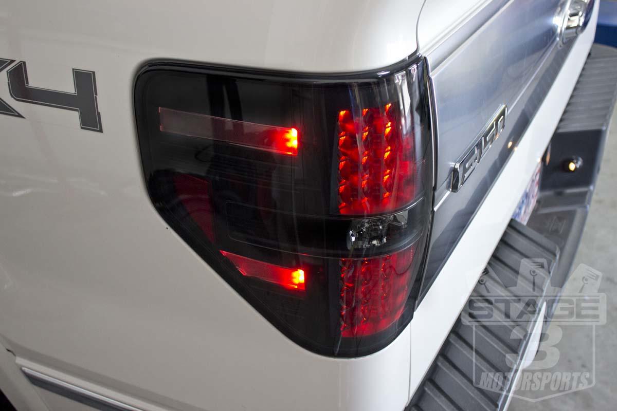 f150 lights tail led smoked raptor recon 2009 platinum forum lighting ecoboost taillights light headlights brake mods aftermarket svt tons