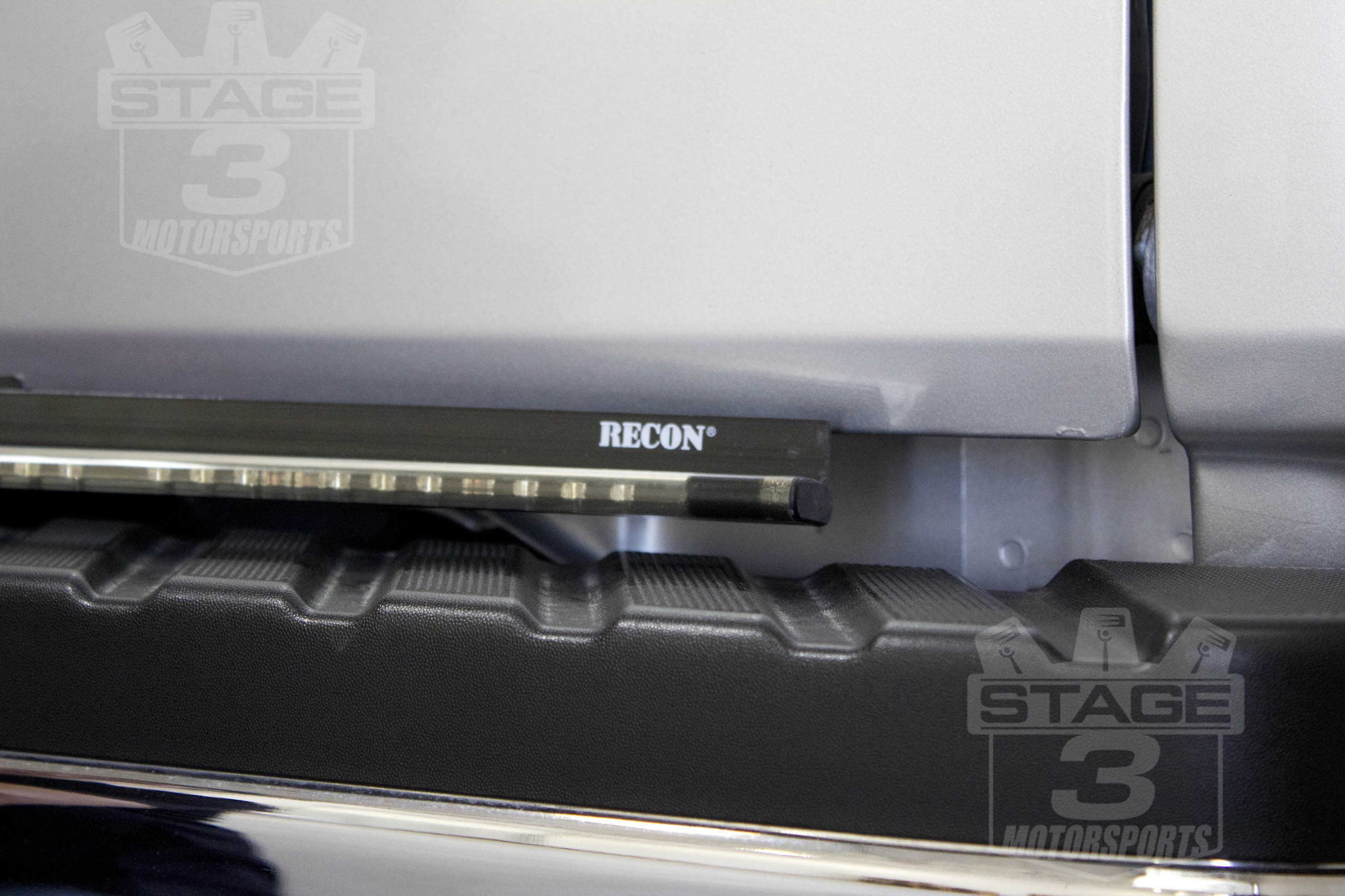 F150 recon tail gate led light bar installed aloadofball Choice Image