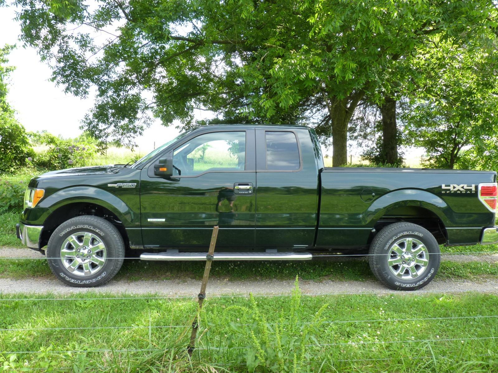 New 1023 Gem Green Metallic XLT EcoBoost