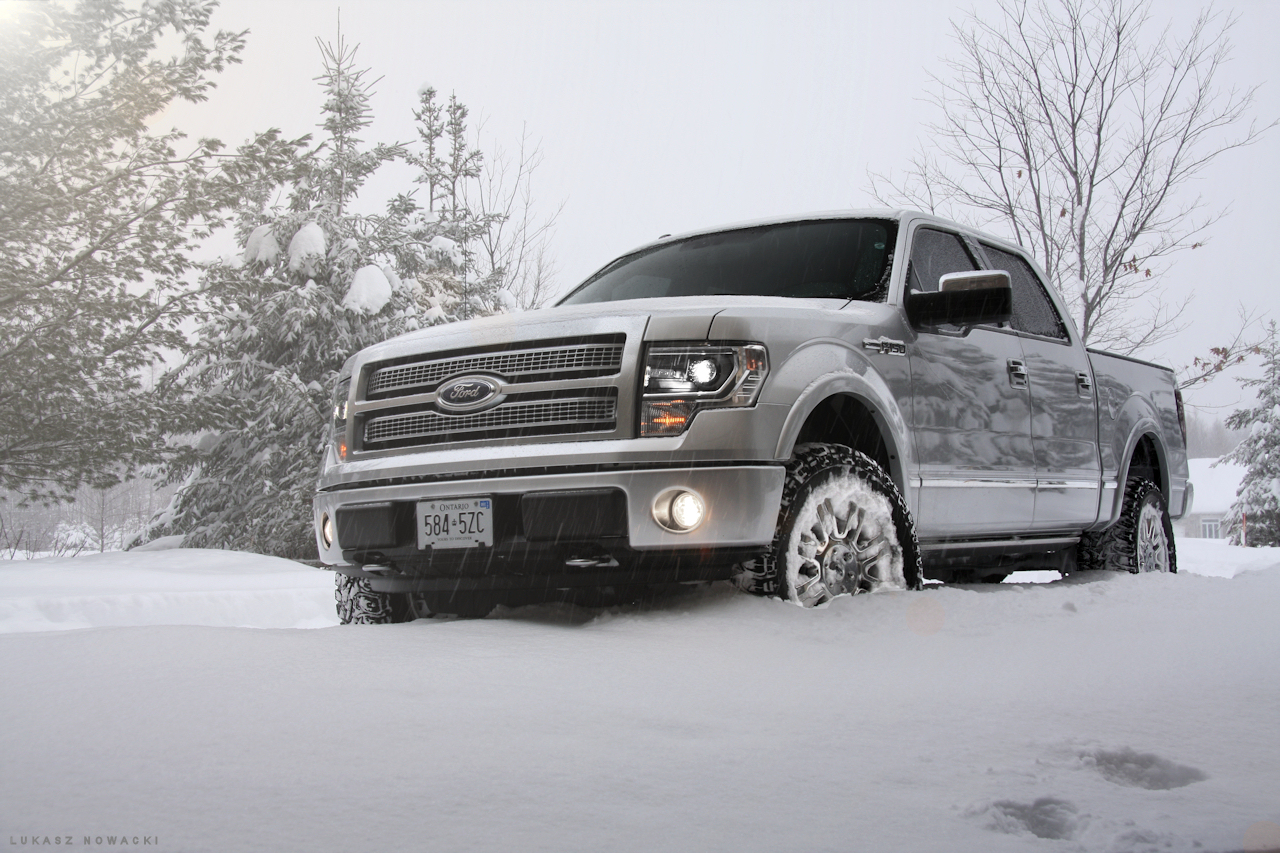 2015 F150 Platinum With 2 Quot Leveling Kit 3 Quot Rear Block
