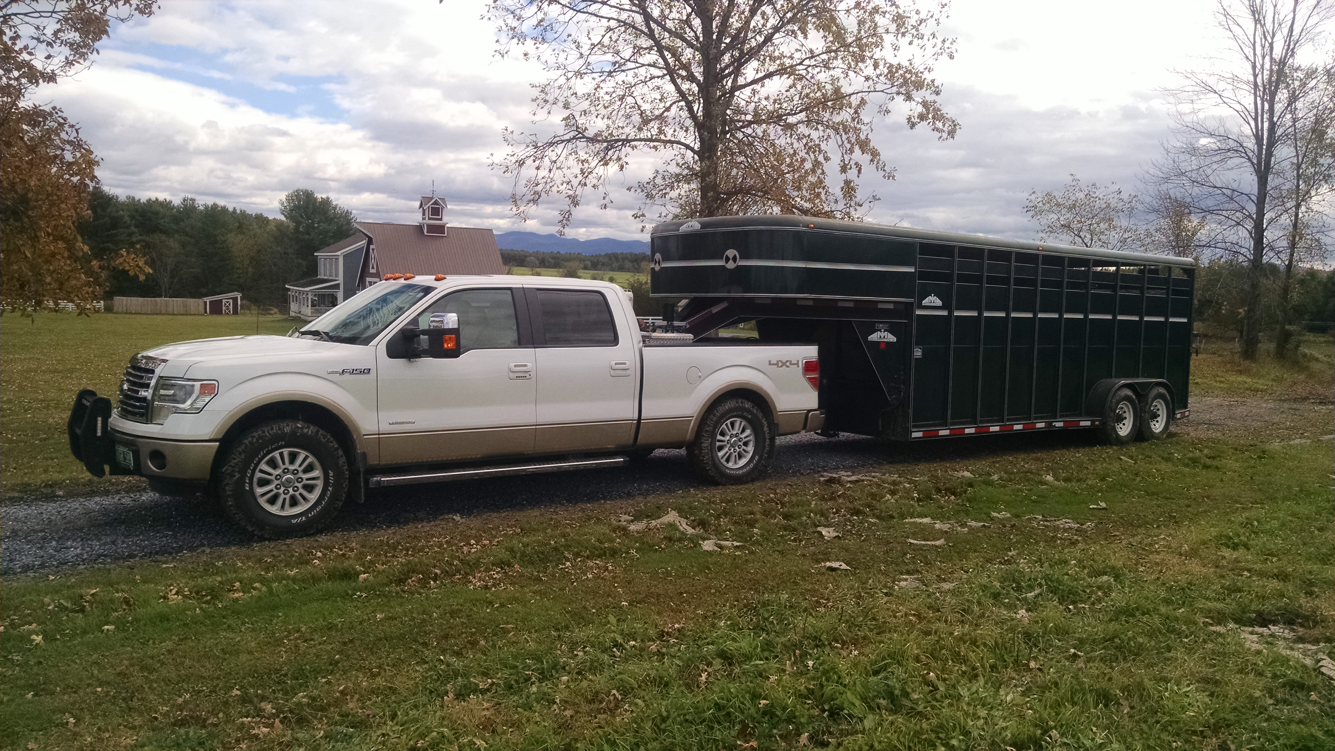 F 150 Gooseneck Hitch Attached Images