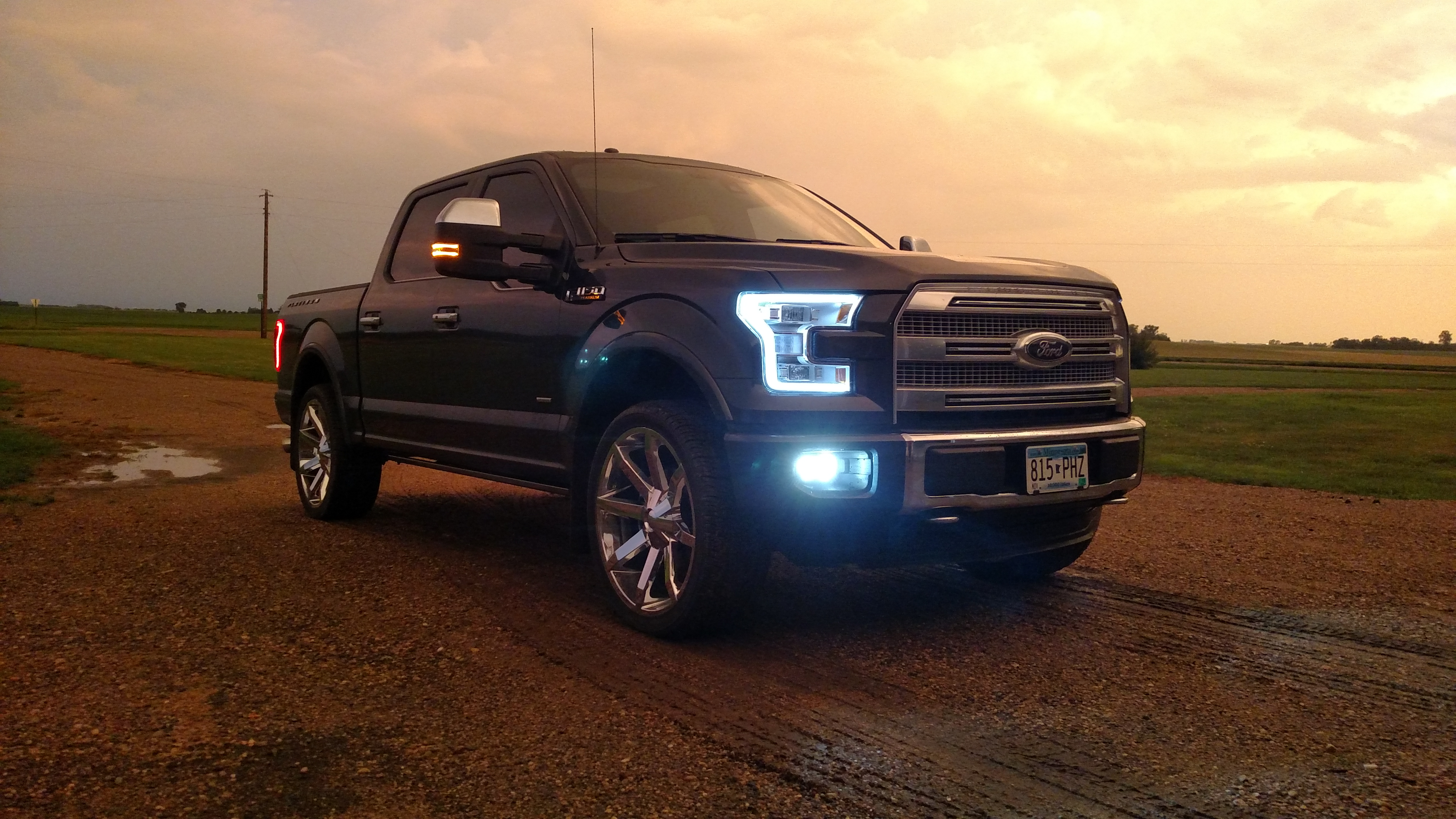 sema ts f la for and ford design trucks show